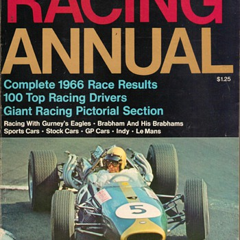 "1967 - ""Racing Annual"" Magazine - Paper"
