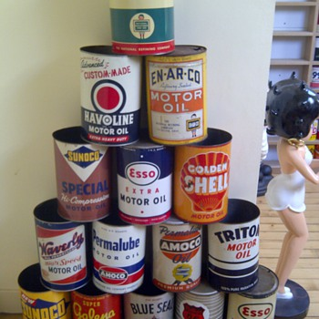 5 Quart Oil Can Collection - Petroliana