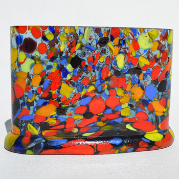 Czechoslovakian spatter glass whatzit? - Art Glass