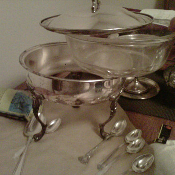 Silver plated pot or what is it? - Kitchen