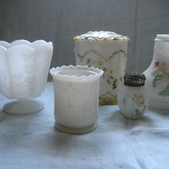 Milk Glass - Glassware