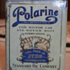 Early 20's Polarine Oil Can