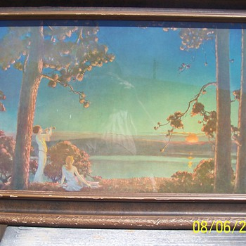Maxfield Parrish, Original Frame, 1920ish  Curtis Publishing Co. - Posters and Prints