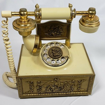 French Provincial Telephone by Deco-Tel - Telephones