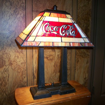 Coca Cola Lamp - Coca-Cola