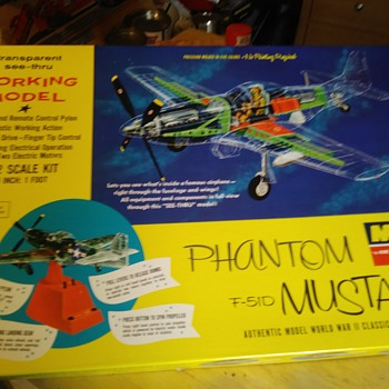 Monogram P-51 Phantom Mustang - Model Cars