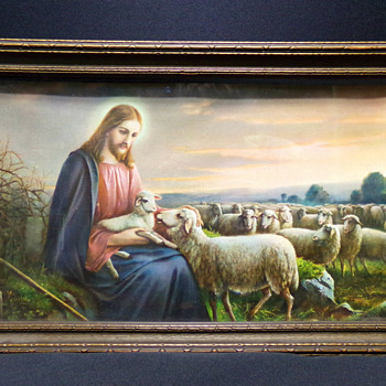 The Good Shepherd, by Josef Untersberger, C. 1940 - Fine Art