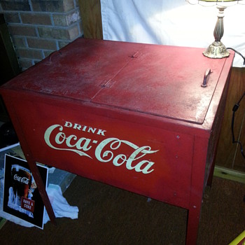 Coca Cola ice chest - Coca-Cola