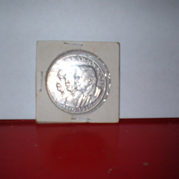 Found Silver German Commerative