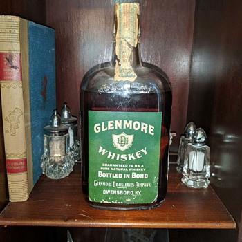 Glenmore Whiskey, Bottled Spring 1916 - Bottles
