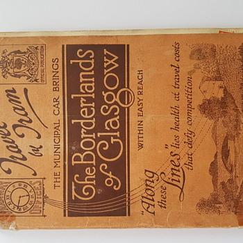 Borderlands of Glasgow 1927 - Books
