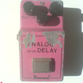 Ibanez AD-80, Analog Delay
