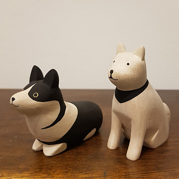 "T-Lab ""Polepole"" series dog figurines - Animals"