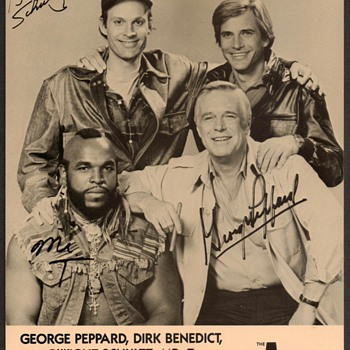 "1986 - ""The A-Team"" Publicity Photograph - Photographs"