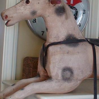 Antique Rocking Horse - Toys