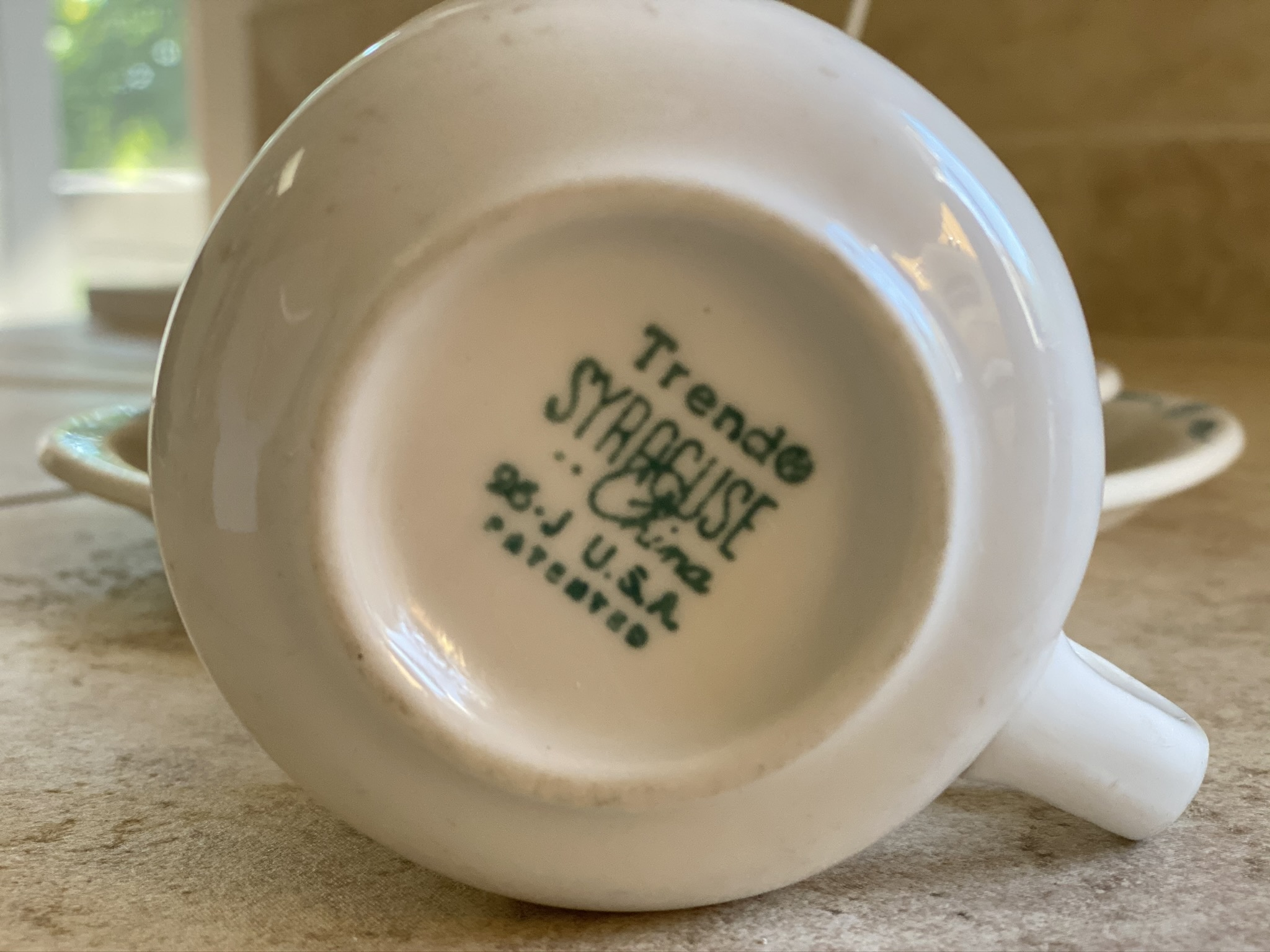 Normandy Trend Syracuse Restaurant Ware China - 1964 ...