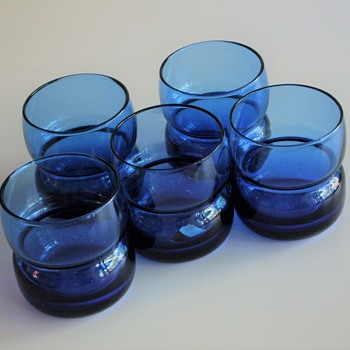 Scandinavian Drinking Glasses  - Art Glass