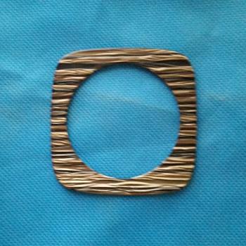 Square plastic bracelet - Costume Jewelry