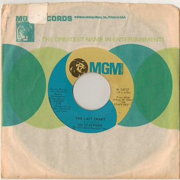 45rpm - Jim Stafford - 1974 - Records