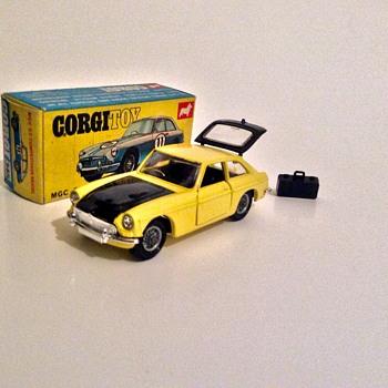 Corgi toys MGC  - Model Cars