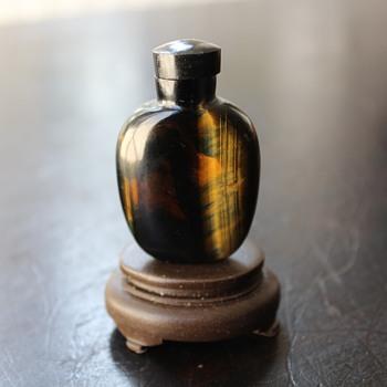 Pietersite Snuff Bottle 2