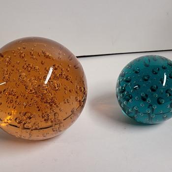 Glass Paperweights  - Art Glass