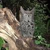 Cast Iron Owl Candle Holder Lantern