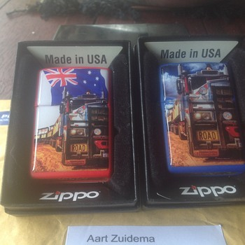 My favourite Zippo lighter made by a friend in Germany.