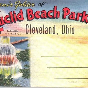 Euclid Beach Park Post Card Pack - Postcards