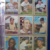 Baseball and Football card collection.