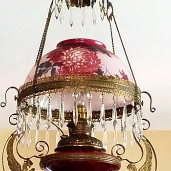 Hanging kerosene lamp - Lamps