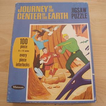 Journey to the Center of the Earth Jigsaw - Games