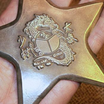 Throwing Star Vintage 1975 brass - Asian