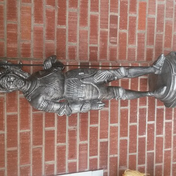 Spanish Conquistador Soldier Statue