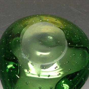 Curvy bubbles - Art Glass