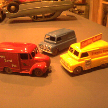 Early Matchbox delivery vehicles not seen in great numbers in the US.