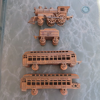 Real or fake? copper train set - Model Trains