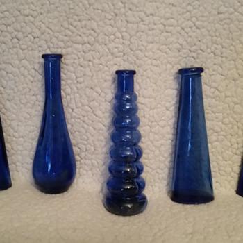 blue  bottles - Bottles