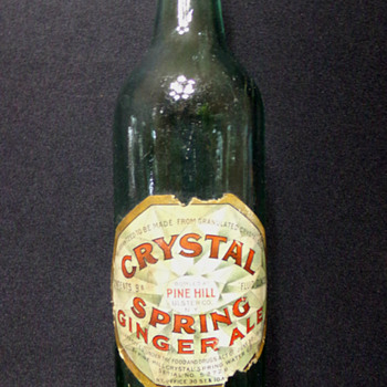 C. 1910 Crystal Springs Round-Bottom - Bottles