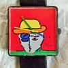 For HippieArchaeologist...... Peter Max Art Wristwatch