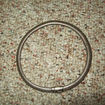 Sterling Omega Necklace/Chocker
