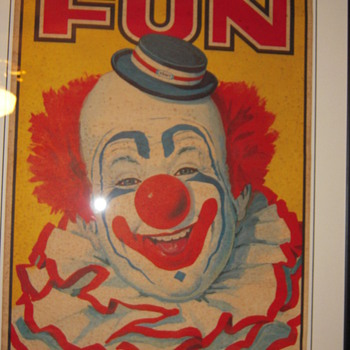 Kraft Promotional Circus Lithographs???? - Posters and Prints