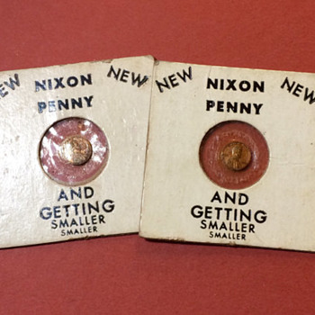 Richard Nixon Tiny Penny- Kennedy campaign