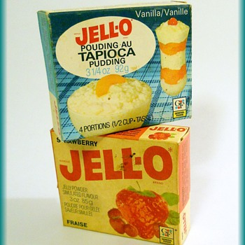 Old Out-dated Vintage ( lol ) ---->  JELLO - Advertising