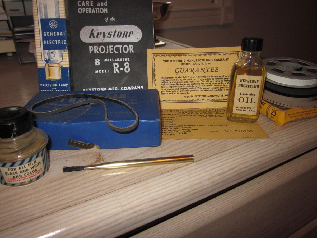 Keystone Projector Model R-8, dated (1939)   Collectors Weekly