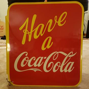 Coca Cola Flange signs - Coca-Cola