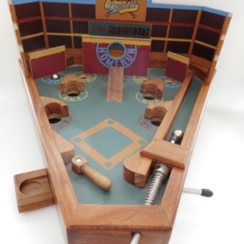 Original Circa Baseball Game - Coin Operated