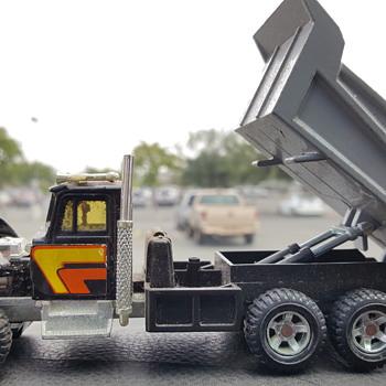Kenworth dump truck.