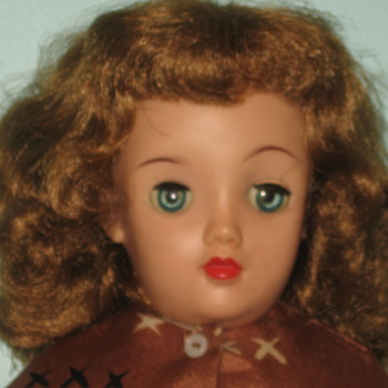 Fashion Doll by Ideal 1950's-What is her name? - Dolls