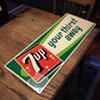7up Embossed Tin Sign